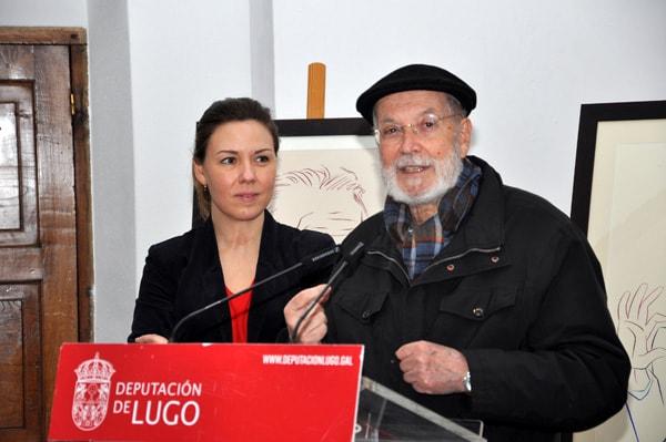 Doazón de tres retratos ao Museo Provincial de Lugo por Siro 5