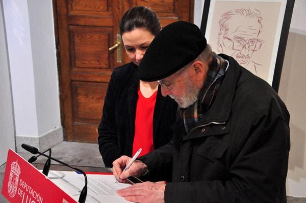 Doazón de tres retratos ao Museo Provincial de Lugo por Siro 7