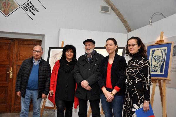 Doazón de tres retratos ao Museo Provincial de Lugo por Siro 9