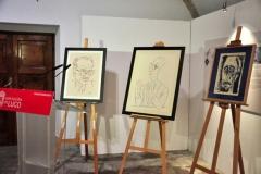 Doazón de tres retratos ao Museo Provincial de Lugo por Siro 1