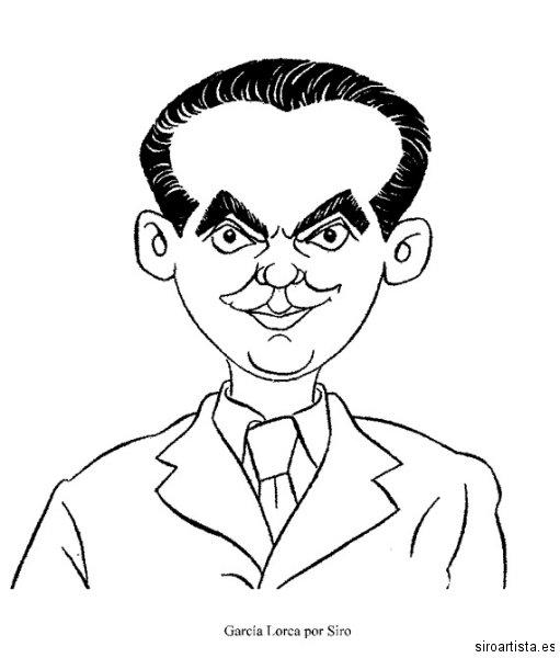 FedricoGarciaLorca_caricatura_Siro