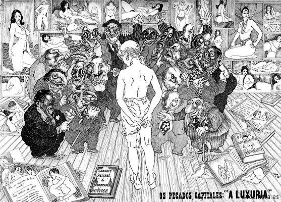 Lujuria, 1976