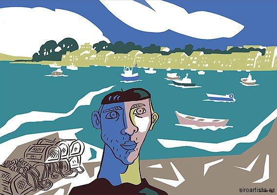 Mariñeiro en Mugardos, 2006