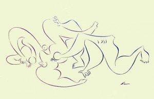 dibujo erótico por siro