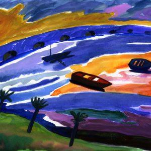 Pintura paisaxe