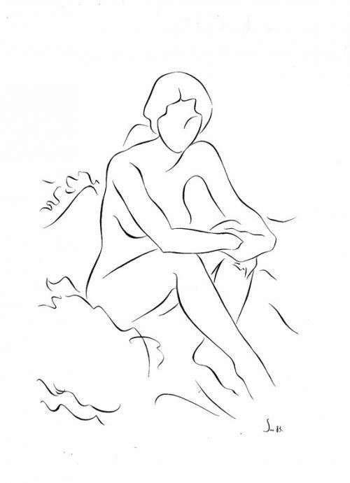 18 Espidos de muller