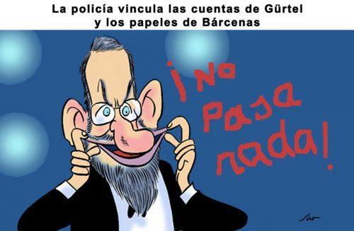 Rajoy, no pasa nada