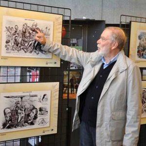 José María Cao Luaces, un galego patriarca da caricatura arxentina