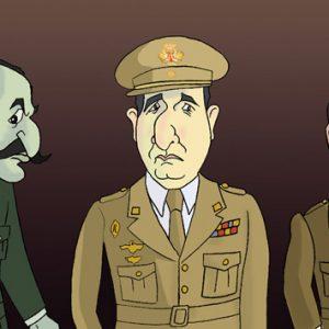 Imáxes da Transición: O comandante Cortina