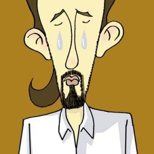 As bágoas de Pablo Iglesias por Siro