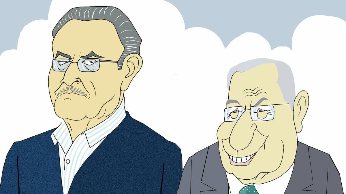 Xosé Luis Franco Grande e Dositeo Rodríguezpor Siro