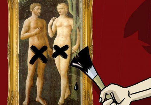 Censura na arte por Siro