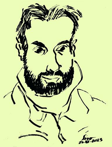 David Pintor<br>Ilustrador, humorista gráfico, caricaturista y pintor