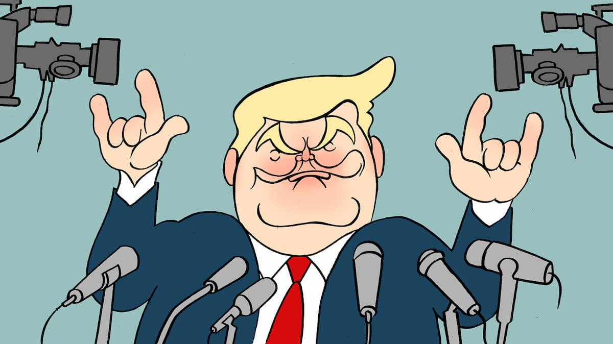 Puntadas sen fío: Deica nunca, míster Trump por Siro