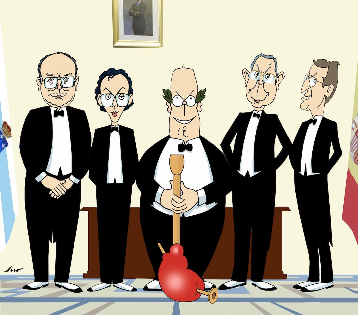 A Autonomía galega en caricatura por Siro