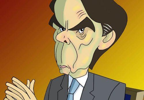 José María Aznar por Siro