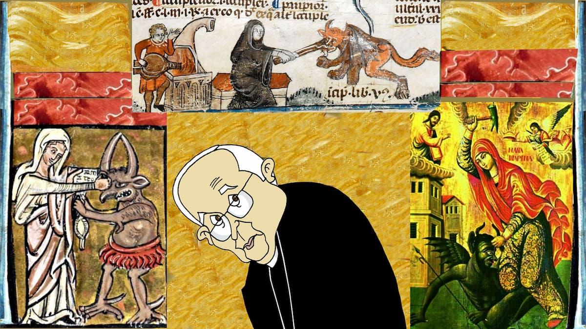 Puntadas sen fío: Monseñor Cañizares e o demo por Siro