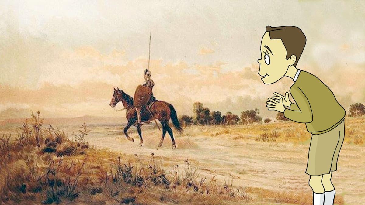 Puntadas sen fío: O meu primeiro Quixote por Siro