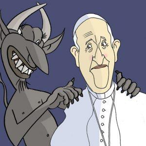 O papa Francisco e o Demo por Siro