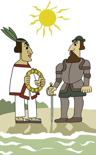 Os xornalistas de Moctezuma por Siro
