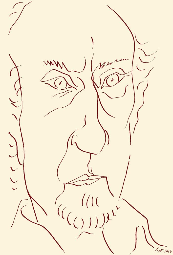 Manuel Vicent por Siro