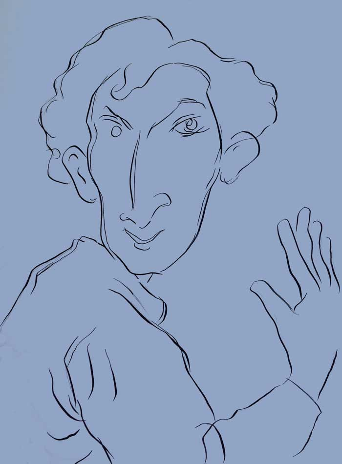 Marc Chagall por Siro