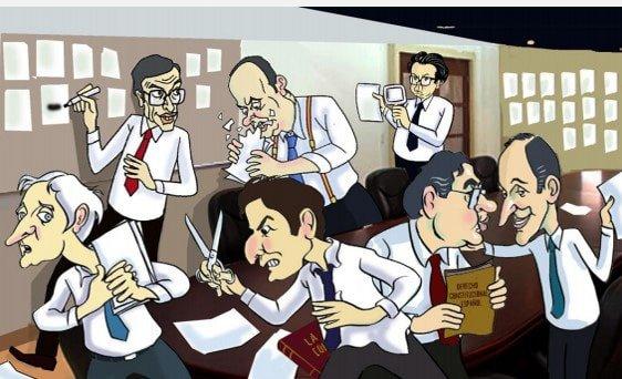 O Camiño á Constitución nas caricaturas de Siro